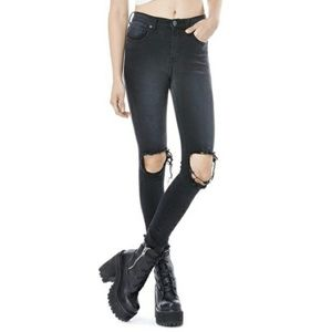 UNIF distressed skinny jeans